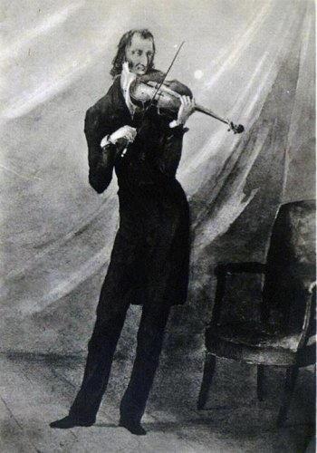 Il musicista Niccolò Paganini biografia