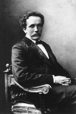 Richard Strauss foto del compositore