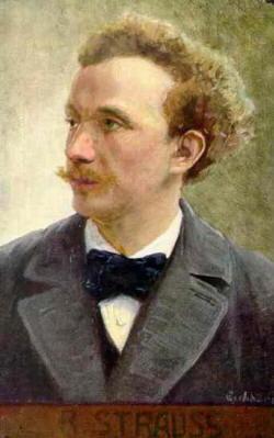 Richard Strauss ritratto