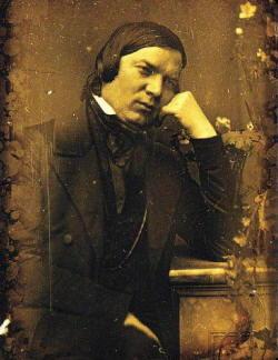 Robert Schumann foto del compositore