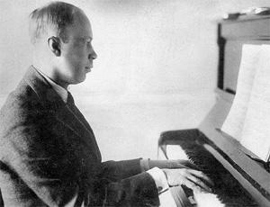 Sergej Prokofiev al pianoforte