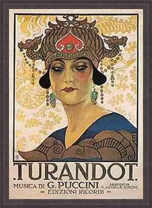 Turandot di Giacomo Puccini