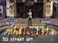 3D street art illusioni