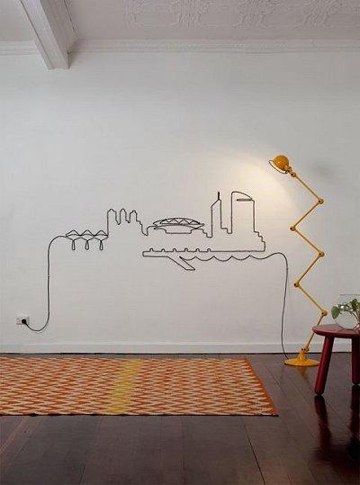 lampadario artistico
