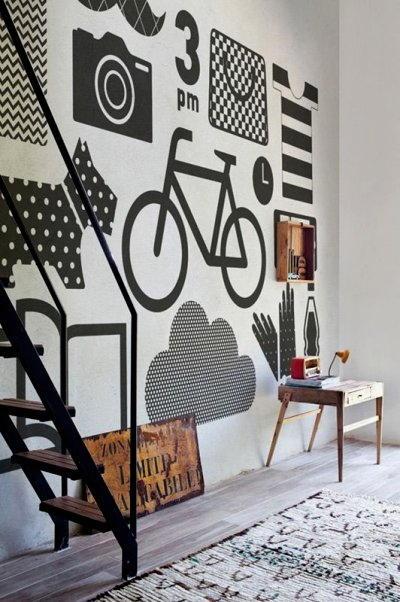 parete decorata