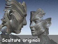 Sculture molto originali