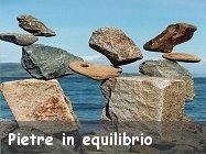Pietre in equilibrio stone balance