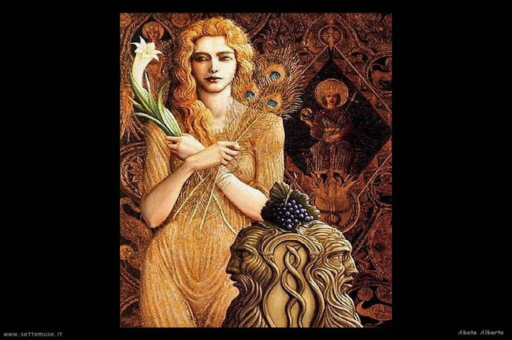 abate alberto figura femminile