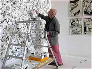 Pierre Alechinsky pittore
