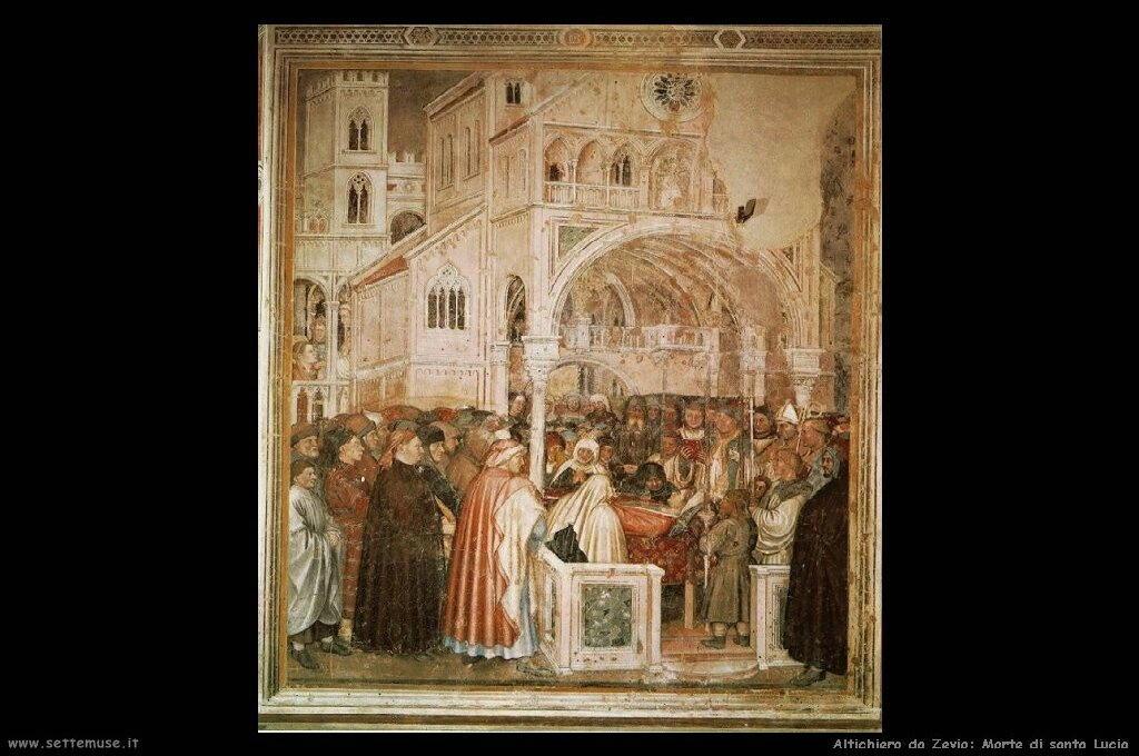 Morte di santa Lucia