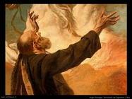 Rapimento di Elia (particolare)