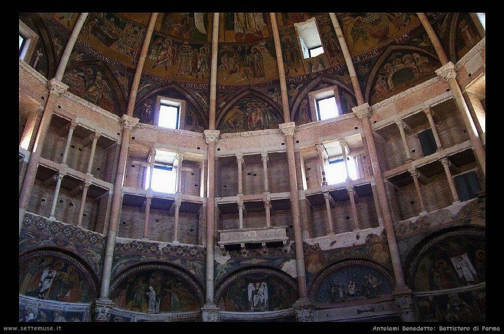 antelami_benedetto Battistero di Parma