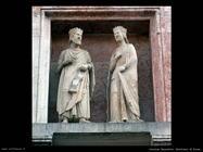 Battistero di Parma sculture