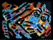 Appel Karel Animale dagli occhi neri 1979