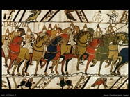 The bayeux tapestry detail