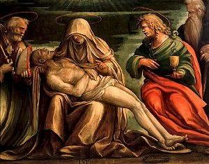 Cristo morto di Aspertini Amico