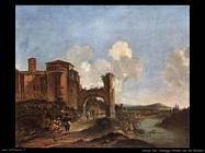 Panorama italiano con san Giovanni