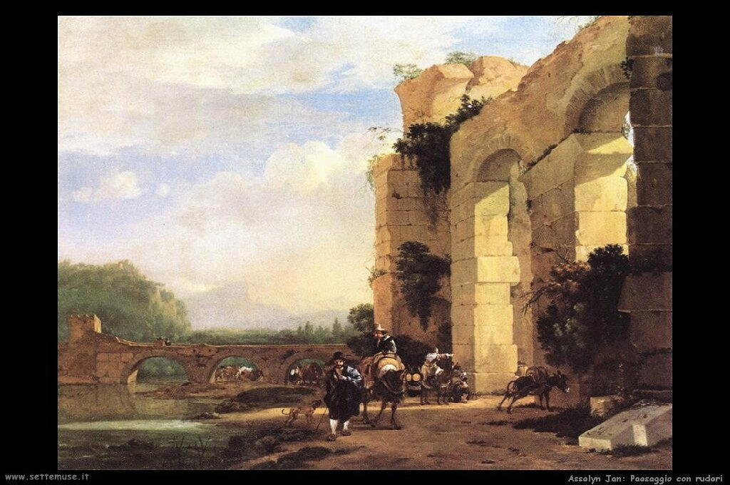 asselyn_jan_501_italian_landscape_with_the_ruins