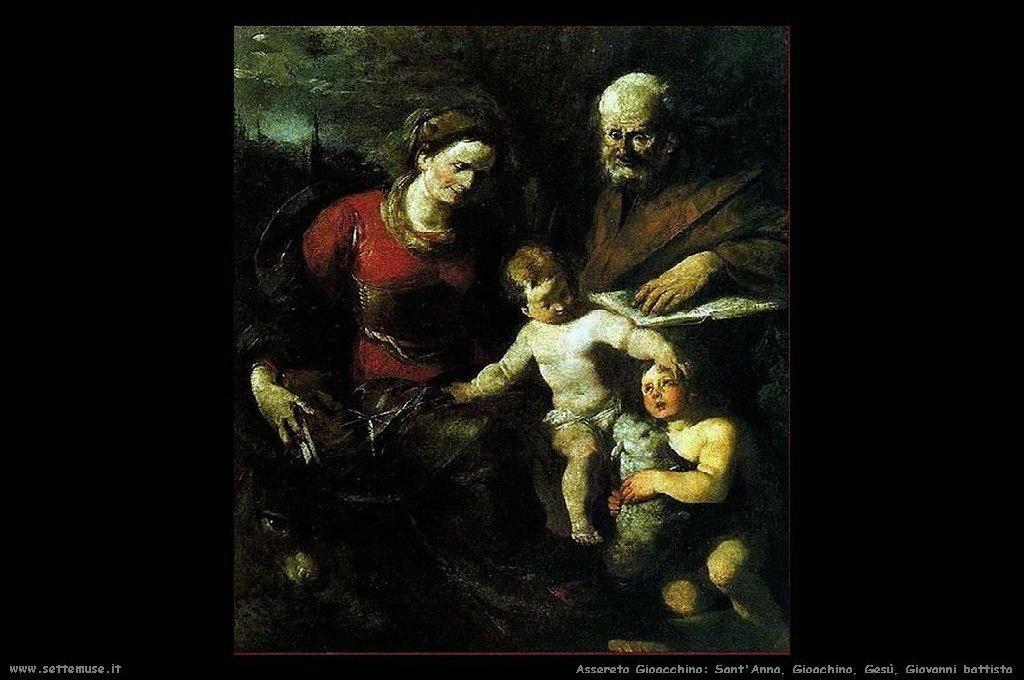Santanna Gioachino Gesù battista