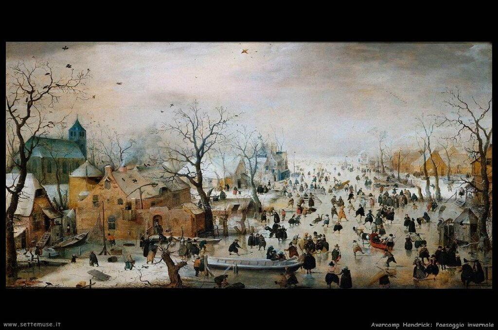 Panorama invernale 1608