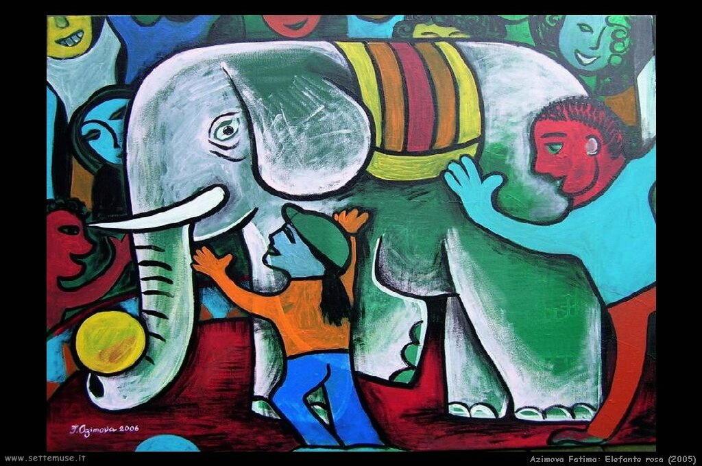fatima_azimova_015_pink_elephant_2005