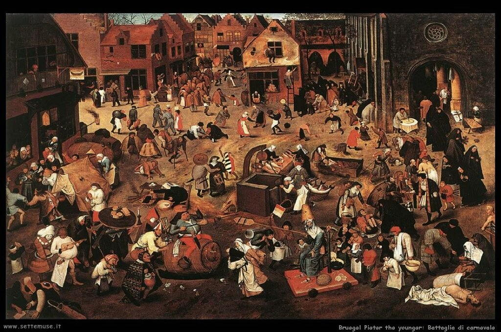 Brueghel_pieter_the_younger_745_battle_of_carnival_and_lent