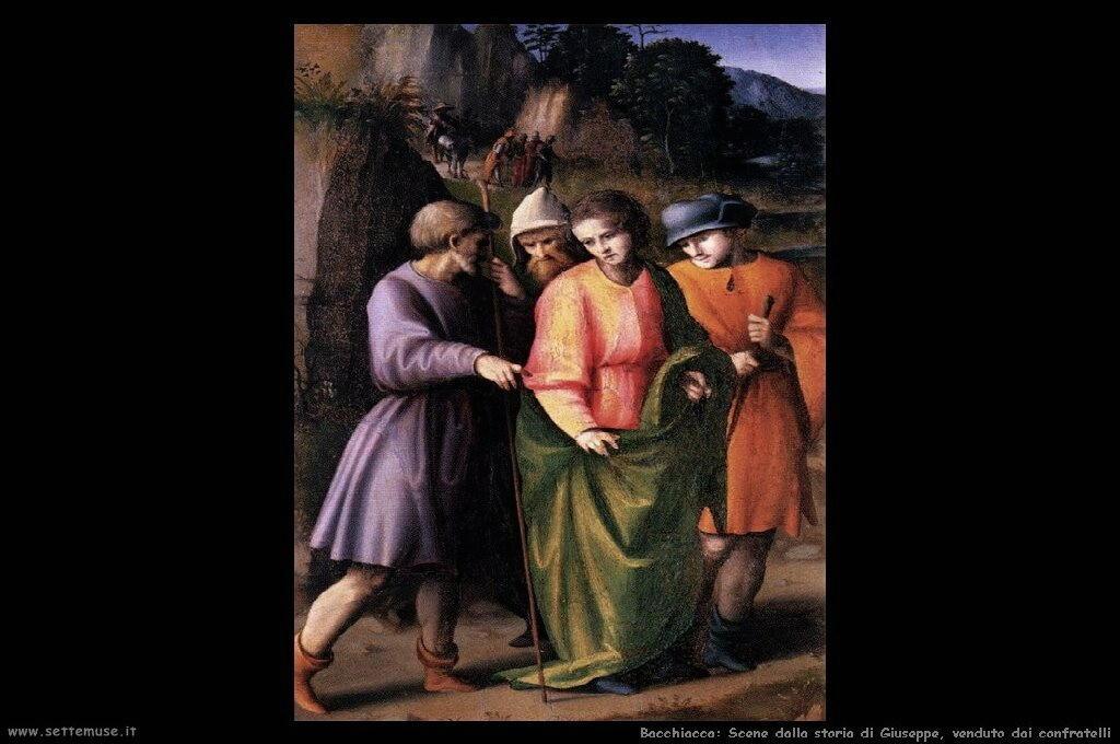 Dalla storia di Giuseppe: Giuseppe venduto dai confratelli