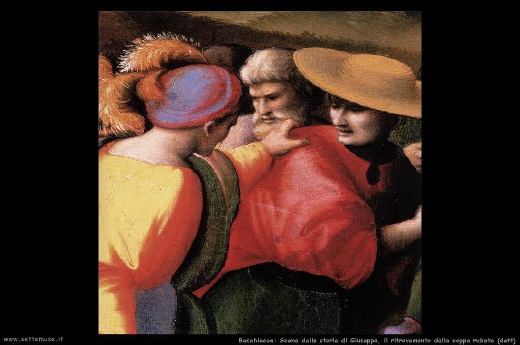 Dalla storia di Giuseppe: Il ritrovamento della coppa