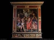 Battesimo di Cristo con santi
