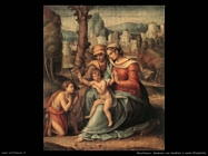 Madonna con bambino e santa Elisabetta