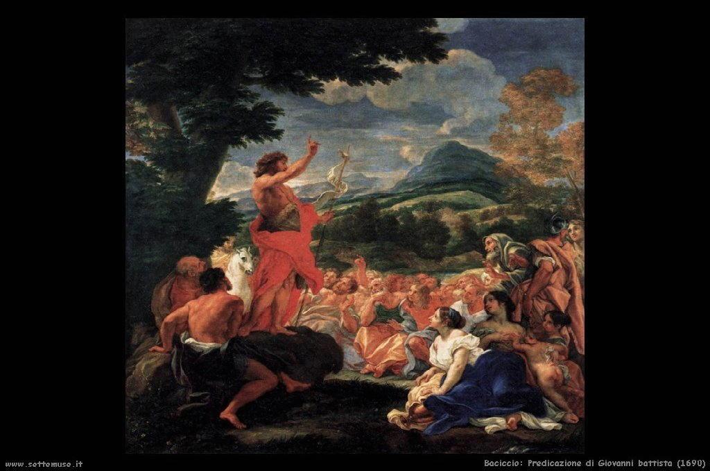 Predicazione di Giovanni battista (1690)