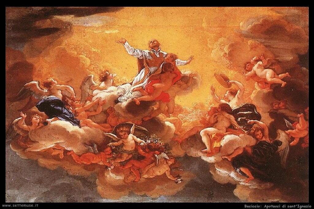 Apoteosi di sant'Ignazio