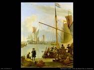Vista da Mussel Pier in Amsterdam