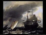 Veliero olandese nel mare di Amsterdam