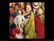 Cristo mentre porta la croce e veronica col sudario