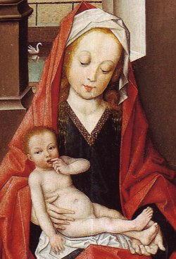 Madonna con bambino di Derik Baegert