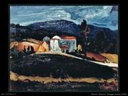 Paesaggio toscano 1962