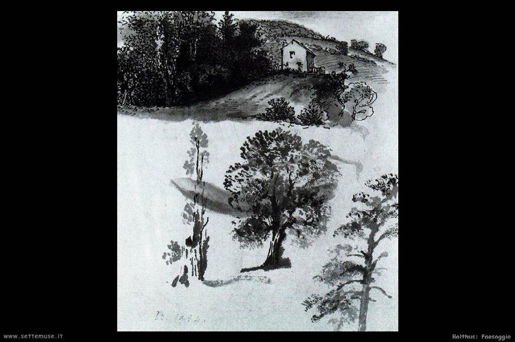 balthus Paesaggio