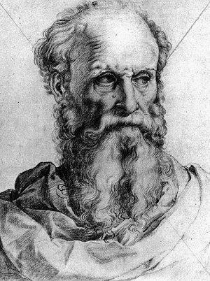 Disegno di Bartolomeo Brandini detto Baccio Bandinelli