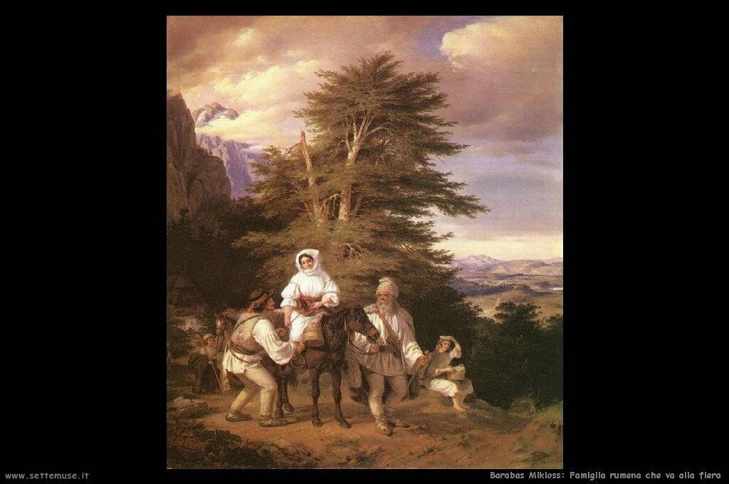 barabas mikloss  Famiglia rumena che va alla fiera