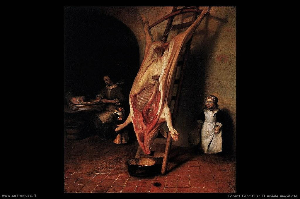 barent_fabritius_501_the_slaughtered_pig