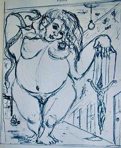 Disegno di Mitchel Barrett J.