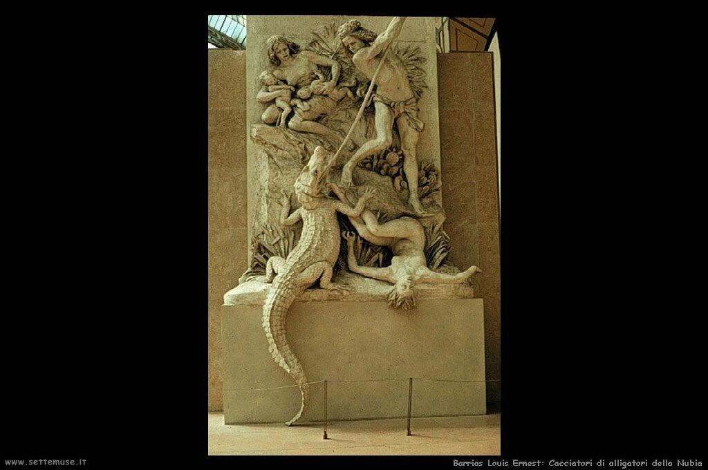 louis_ernest_barrias_005_cacciatori_di_alligatori_della_nubia_1894