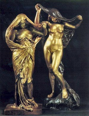 Statuine di Louis-Ernest Barrias