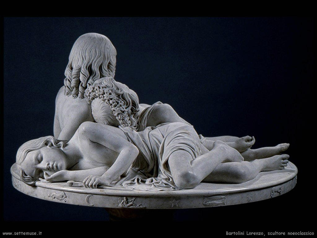 Lorenzo Bartolini scultore neoclassico