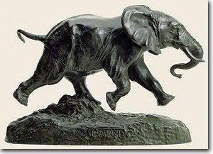 Elefante di Barye Antoine Louis