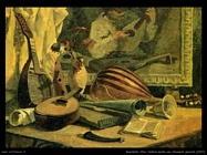 Natura morta con strumenti musicali (1937)