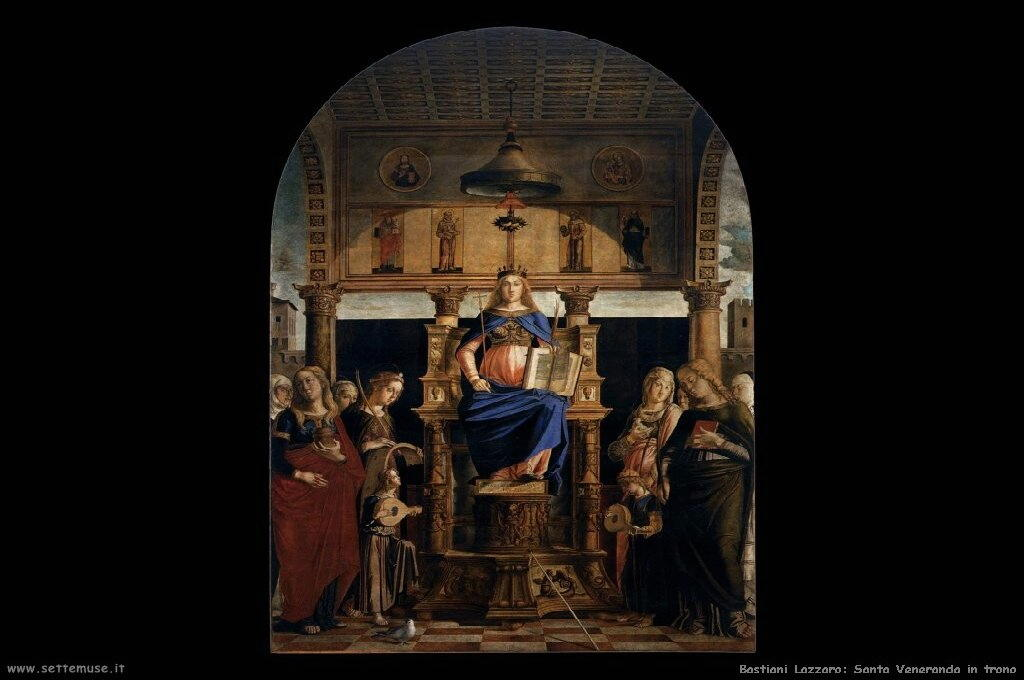 bastiani_lazzaro_506_st_veneranda_enthroned