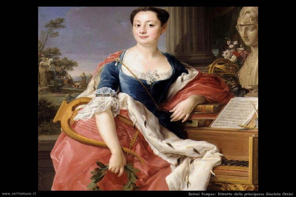 Ritratto della principessa Giacinta Orsini