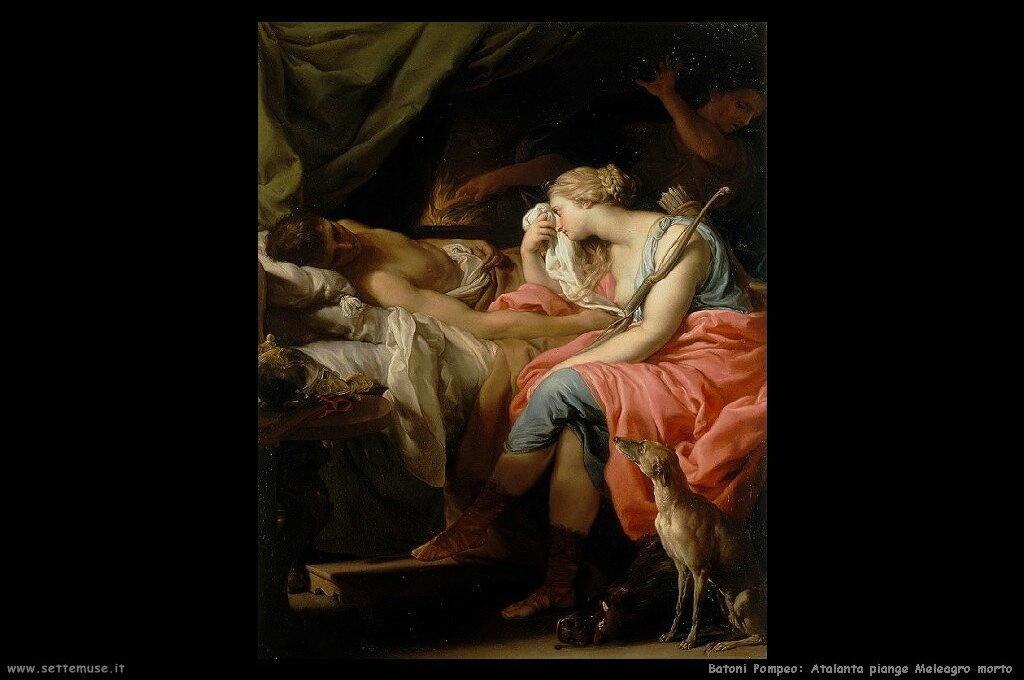 Atalanta piange Meleagro